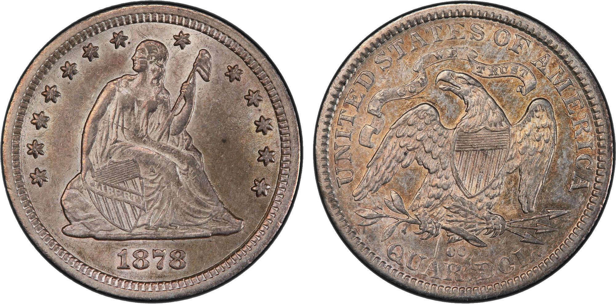 1892 1//2 E T-1 US Barber Silver Quarter in Good Condition Price per Each Coin