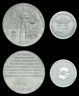 Singapore 2017 International Coin Fair 30 grams Silver Commemorative Medal