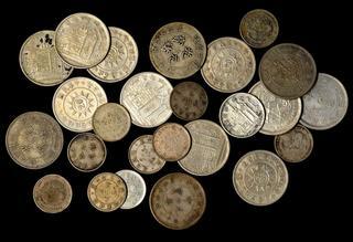 MEXICO UN PESO 1947 /& 1948 BOTH NICE AU  .500 FINE SILVER 2 TOTAL COINS