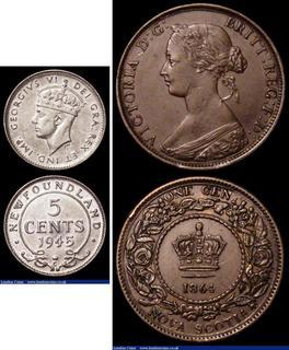 H Mark Silver Newfoundland Quarter Graded as Very Good 1904 Canada