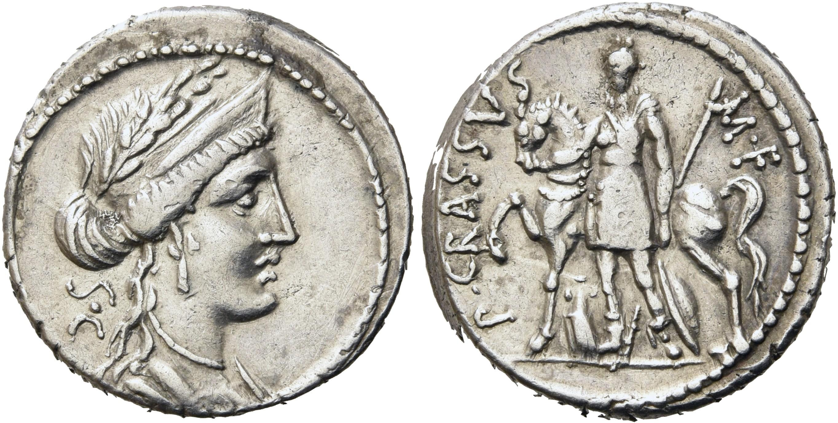 CoinArchives com Search Results : Crassus