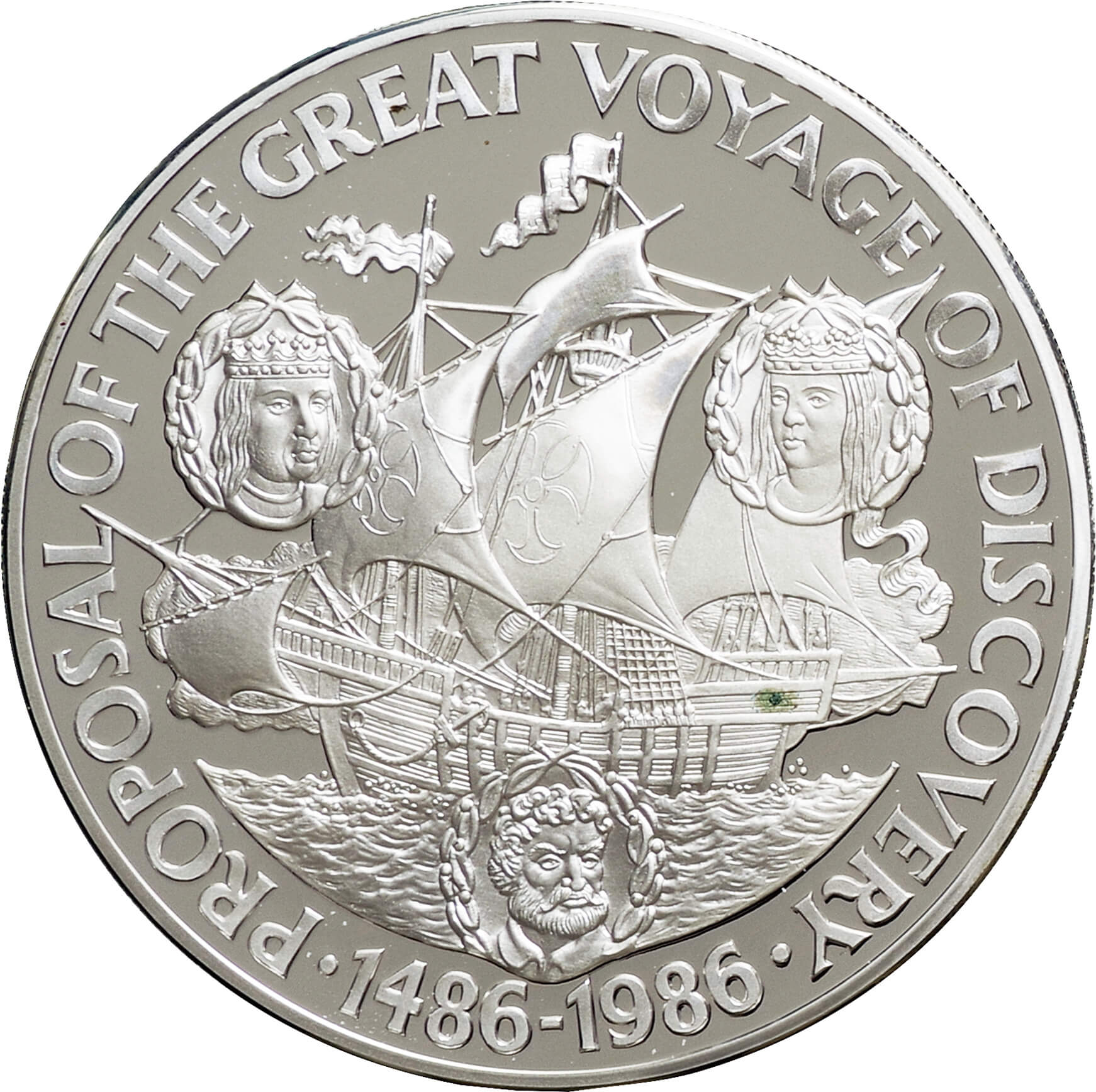 Foreign Coin Very Fine Lot Of 3 1988 El Salvador 1 Colon Christopher Columbus