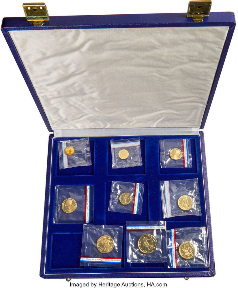 GEM UK Coins WITH Case and COA 1994 United Kingdom Proof Set 8 Coins Total