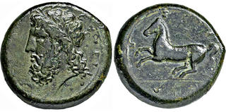 Griechen Numiden Könige Massinissa O Micipsa 208-118 Bc Ae 25 Pferd Horse Rr Coins: Ancient Beautiful Coins & Paper Money