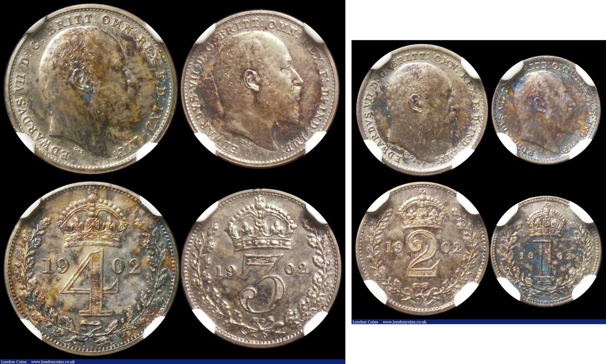 Germany Coins with Swastika #211 2 pfennig Set of 2 Reichsmark 1