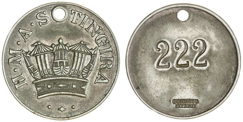 2000 RAM $1 UNC Olymphilex Sydney MM edge-lettered coin