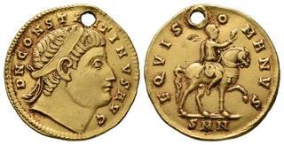 Byzantine (300-1400 Ad) Coins: Ancient Expressive Byzantine Empire Justin Ii Follis Sophia Cyzicus Ae 27 Nice Coin