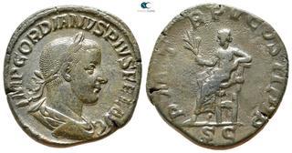 Lovely Roman Coin Silver Antoninianus Gordian Iii 238-244 Ad Roman Aeqvitas Avg