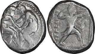 Dynasts Of Lycia Ae 12 Peikles Greek (450 Bc-100 Ad) Ca 380-360 Bc Vor Chr Triskeles Selten Rare Coins: Ancient