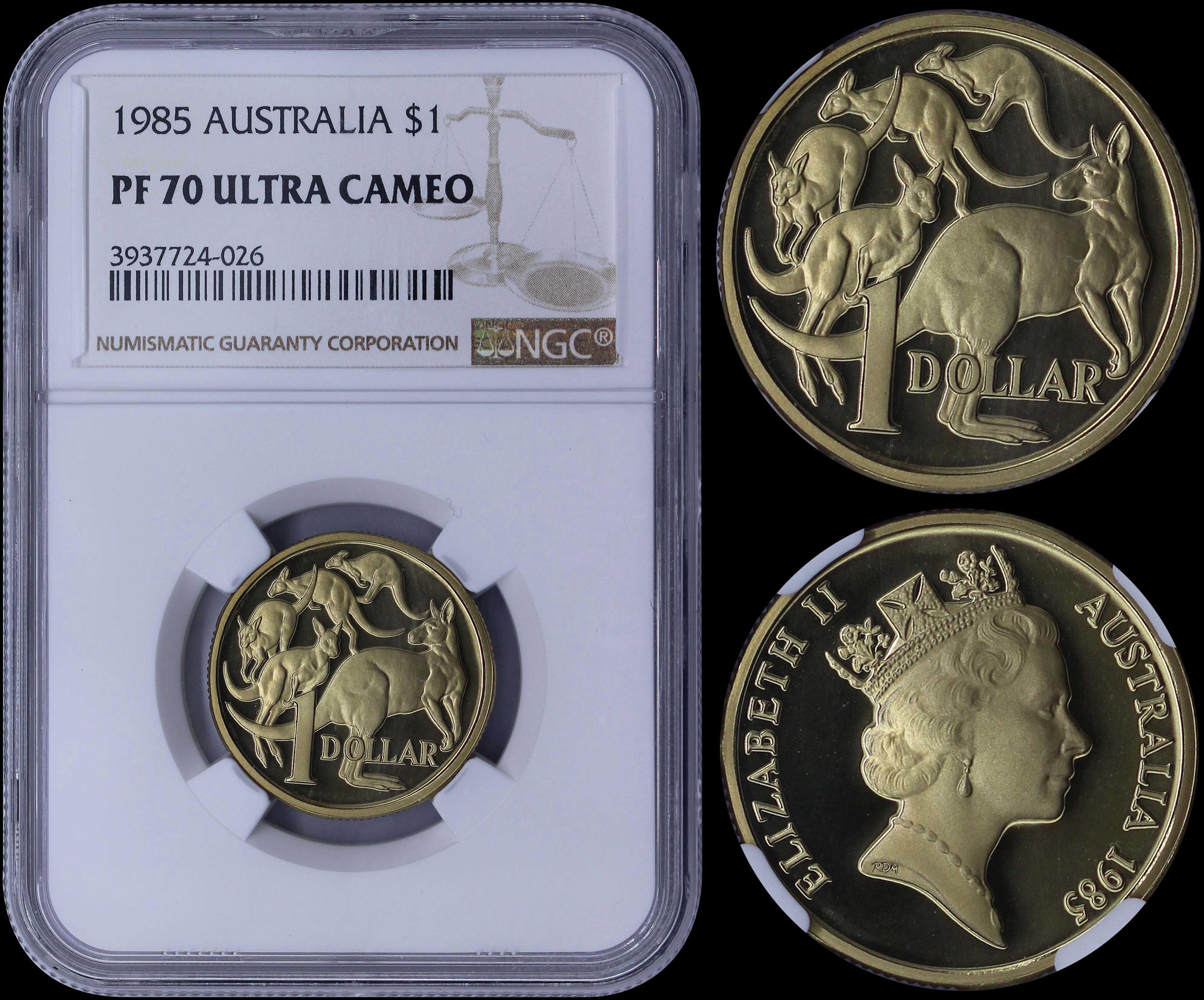 2019 Australia GILDED Silver Lunar Year of the PIG NGC MS 70 1oz Coin ER GILT