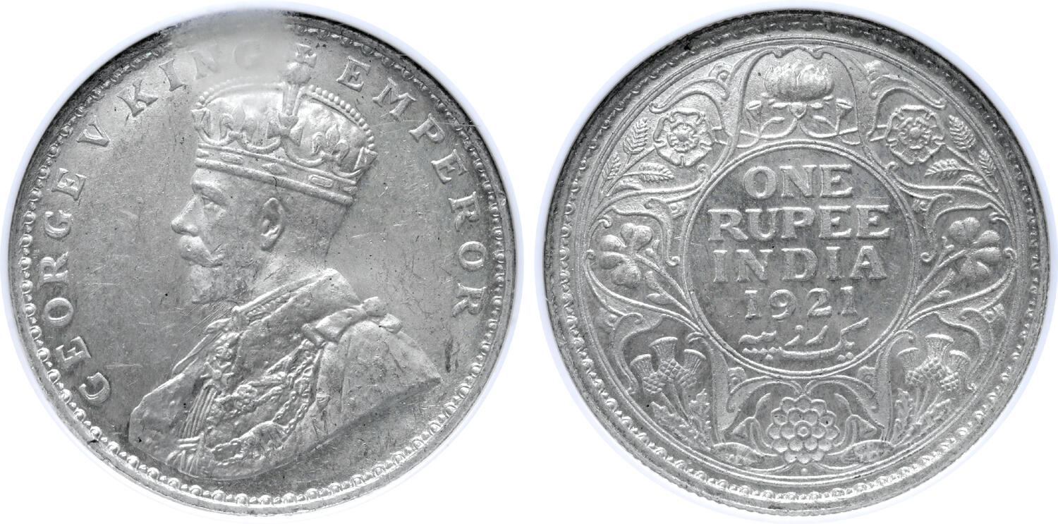 1939 UK George V British Silver Shilling Gem Uncirculated