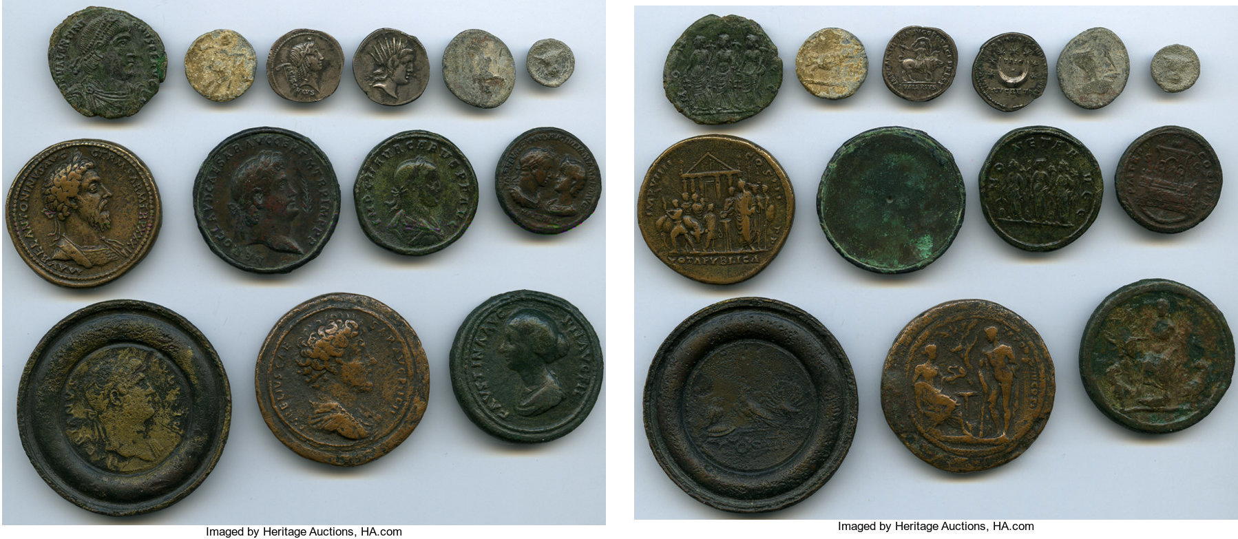 CoinArchives com Search Results : Faustina AND Sestertius