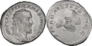 254-268 c42 Ancient Roman Billon Antoninianus Salonina