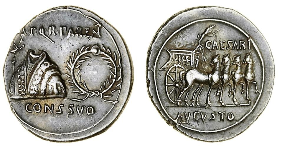 CoinArchives com Search Results : Augustus AND Dena AND PAREN AND