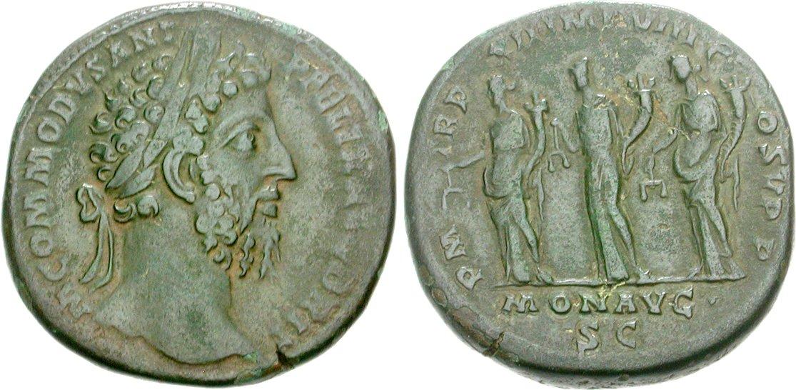 Sestercio de Septimio Severo (MONET AVG COS II P P) Image01025