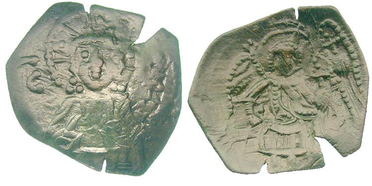 Trachy recortado, Imperio Latino (1204-1261) Constantinopla Image00723