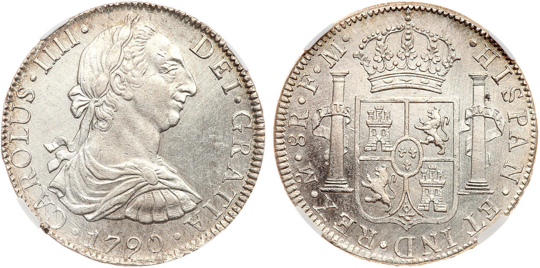 1790 carolus iv coin value