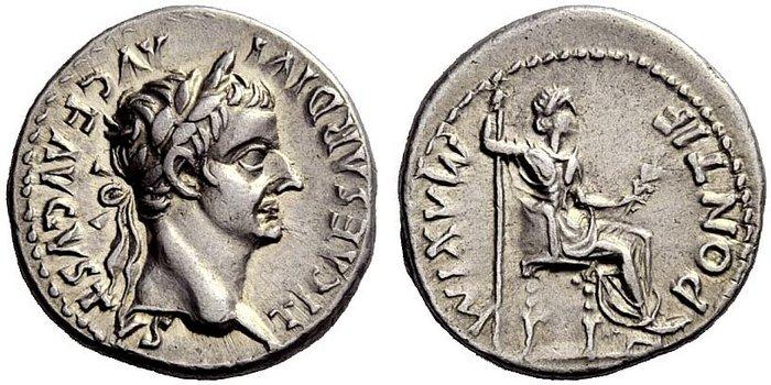 bodemvondstenwereld toon onderwerp romeinsdenarius