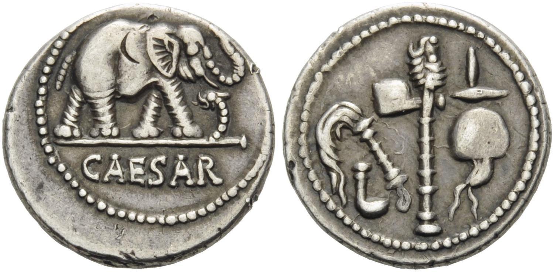 caesar coin elephant wrl