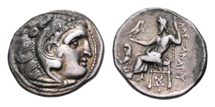 Dracma de Lisímacos como Alejandro III el grande  Image00345