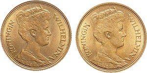 gouden vijfje 1912 wilhelmina